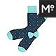 The Regular Socks Mock-up - GraphicRiver Item for Sale