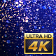 4K G-Blue Particles Background - VideoHive Item for Sale