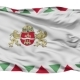 Budapest City Isolated Waving Flag - VideoHive Item for Sale