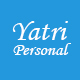 Yatri-Personal Responsive Bootstrap Template - ThemeForest Item for Sale