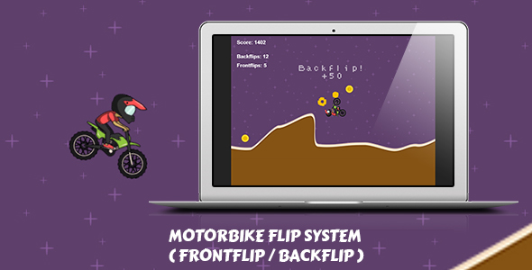 Rotate The Bike System for Construct 2 + HTML5 Game - CodeCanyon Item for Sale