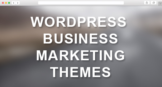 WordPress Landing Page - Marketing Themes