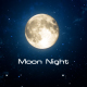 Moon Night Looped - VideoHive Item for Sale