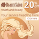 Web Banners Set for Beauty Salon - GraphicRiver Item for Sale