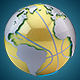 Golden Basketball Earth Map Loop - VideoHive Item for Sale