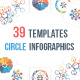 39 Circle Infographic Templates Bundle - GraphicRiver Item for Sale