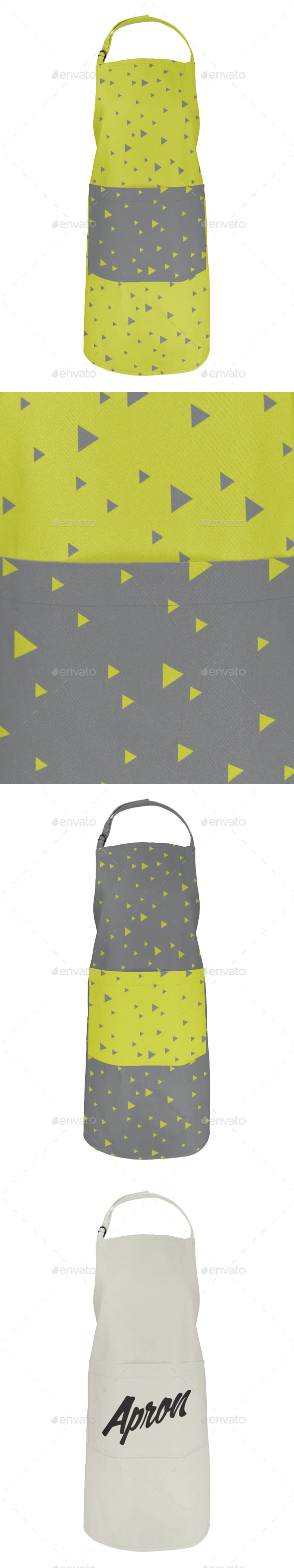 Canvas Apron Mockup - Miscellaneous Print