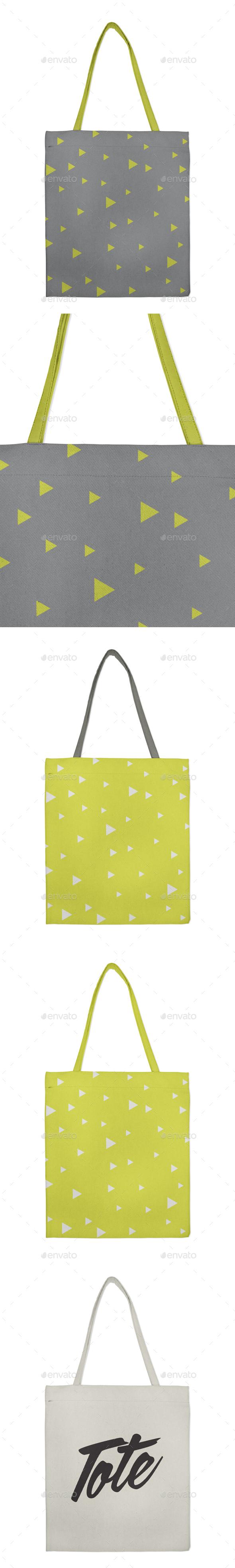 Canvas Tote Bag Mockup - Miscellaneous Print