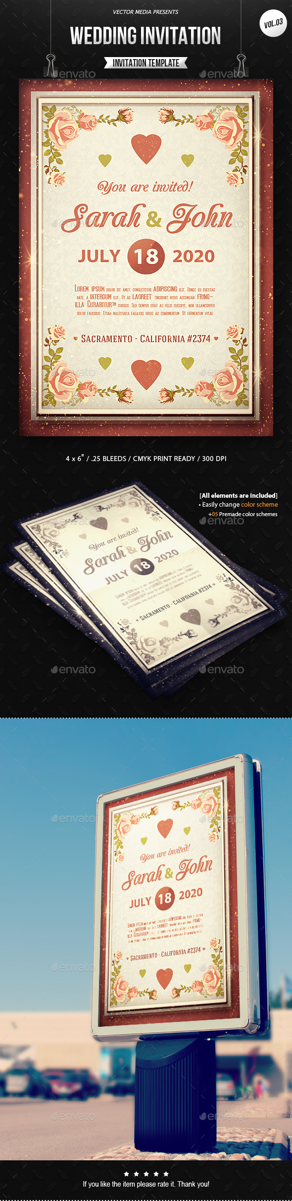 Wedding Invitation [Vol.3] - Weddings Cards & Invites