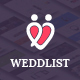 Weddlist - Wedding Vendor Directory PSD Template