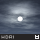 High Resolution Night Sky HDRi Map 003