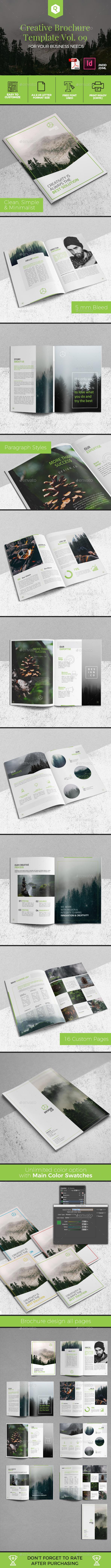 Creative Brochure Template Vol. 09 - Corporate Brochures