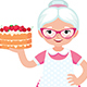 Grandma Housewife - GraphicRiver Item for Sale