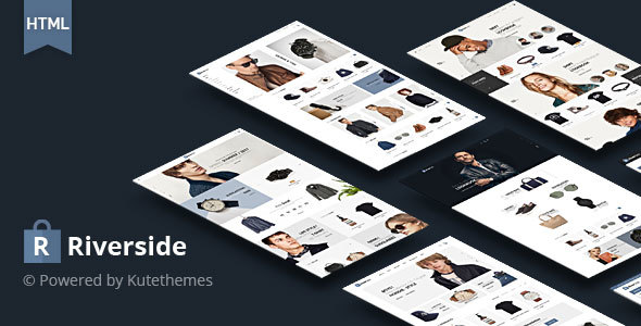 Riverside – Multipurpose HTML Template