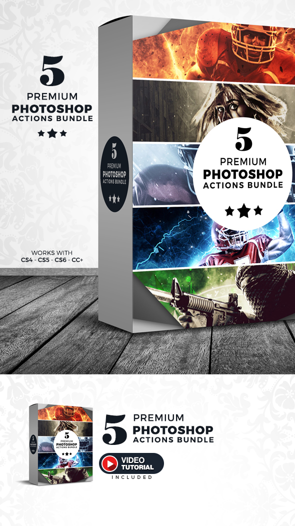 2017 Photoshop Actions Bundle - Version 2 - Photo Effects Actions