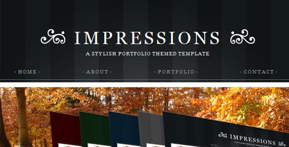 Impressions - HTML version - Portfolio Creative