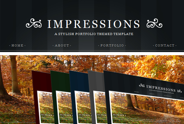 Free Download Impressions - HTML version Nulled Latest Version