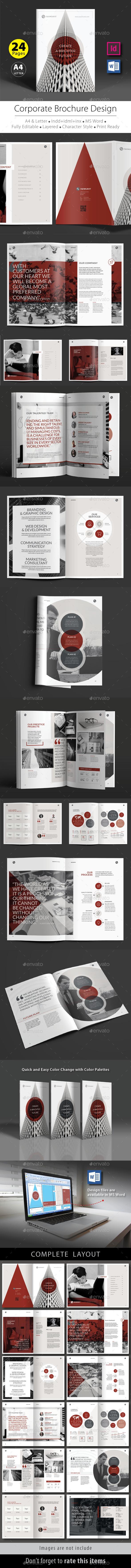 Corporate Brochure Design Template V.3 - Corporate Brochures