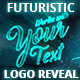 Futuristic Energy Logo Reveal - VideoHive Item for Sale