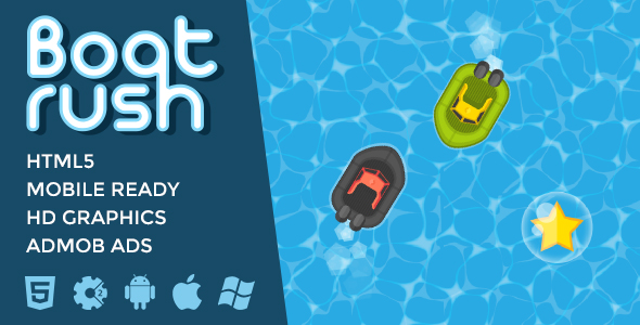 Boat Rush - Water Racing Game - CodeCanyon Item for Sale