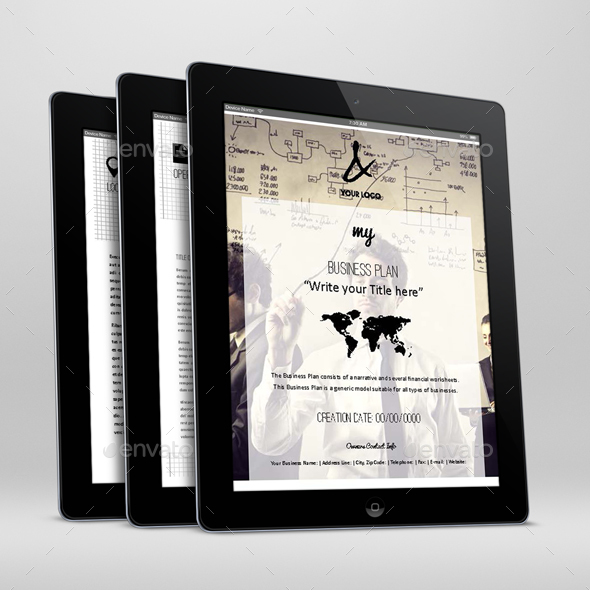 My Business Plan Digital Template By Keboto Graphicriver