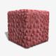 Strange Lumpy Pink Wall Seamless Texture