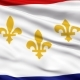 Waving National Flag of New Orleans City - VideoHive Item for Sale