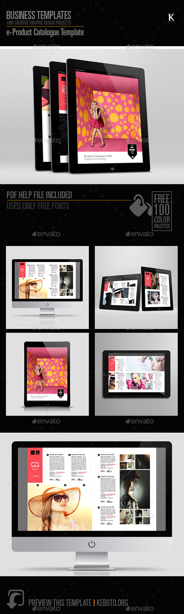 e-Product Catalogue Template - ePublishing