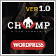 Gym - Champ, Fitness & Yoga WordPress Theme Nulled