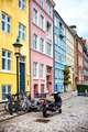 Colorful hauses of Nyhavn, Copenhagen