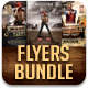 Western Party Flyers Bundle - GraphicRiver Item for Sale