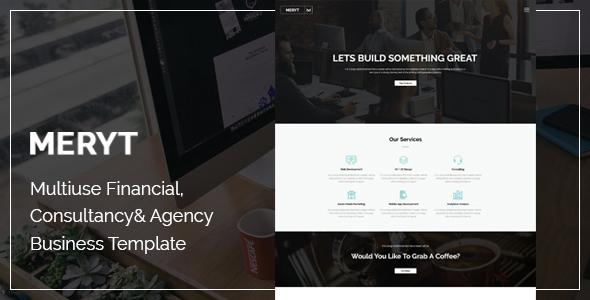 Meryt | The Multi-Purpose HTML5 Template