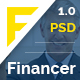 Financer | Finance & Business PSD Template - ThemeForest Item for Sale