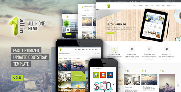 All In One — All Inclusive HTML5 Template