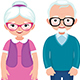 Senior Married Couple - GraphicRiver Item for Sale