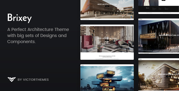 Brixey – Responsive Architecture WordPress Theme