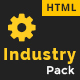 Industrial - Factory, Industry & Construction HTML Template