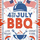4th of July Labor Day BBQ Flyers - GraphicRiver Item for Sale