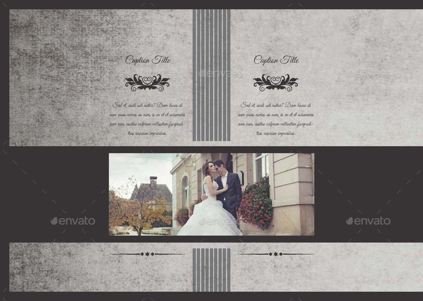 Royal Wedding Photobook Template by Keboto | GraphicRiver