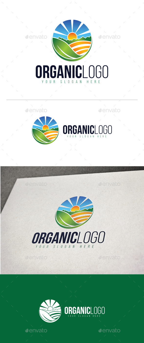 Agriculture Logo Template - Nature Logo Templates