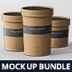 Round Paper Box Mockup Bundle - GraphicRiver Item for Sale