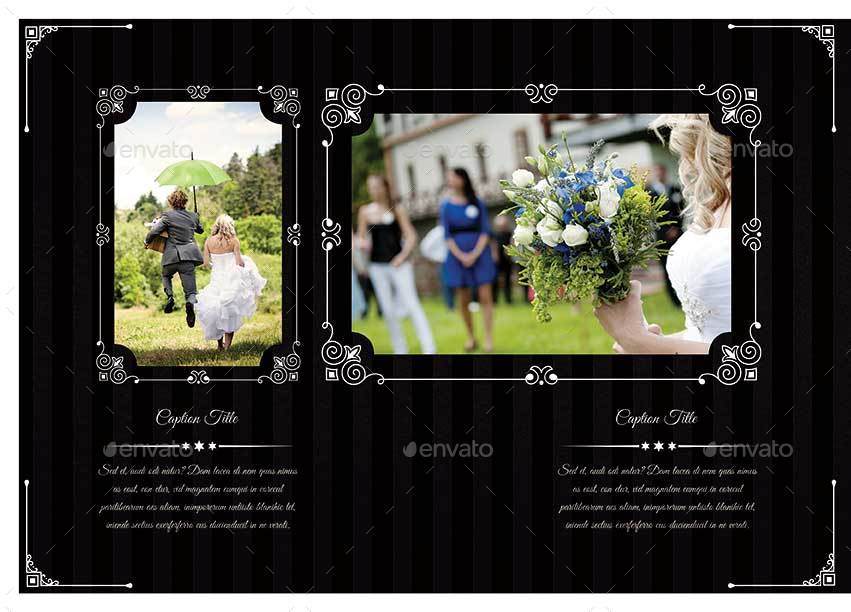40 pages photoshop wedding photobook template by keboto graphicriver. Black Bedroom Furniture Sets. Home Design Ideas