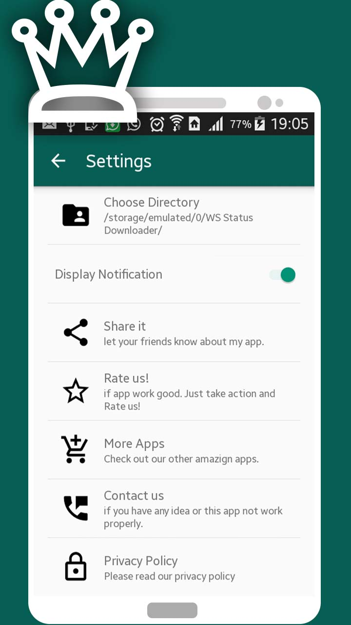 Whatsapp Status Downloader
