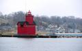 The Red Lighthouse Lake Macatawa Holland Michigan Great lakes