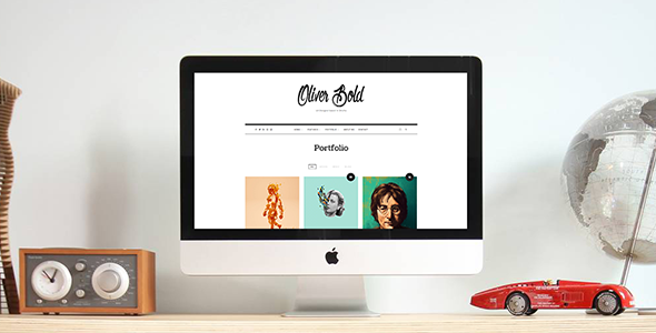 Oliver – Classic & Minimal Portfolio WordPress Theme