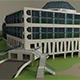 Science center building - 3DOcean Item for Sale