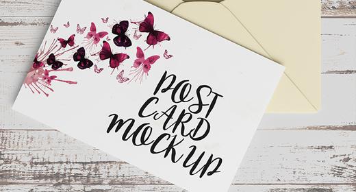 Postcard Mockups