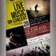 Live Music Concert Flyer / Poster - GraphicRiver Item for Sale