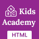 KidsAcademy -Kids Kindergarten & School HTML Template Nulled