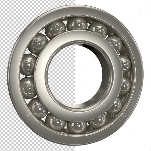 Ball Bearing - Technology 3D Renders